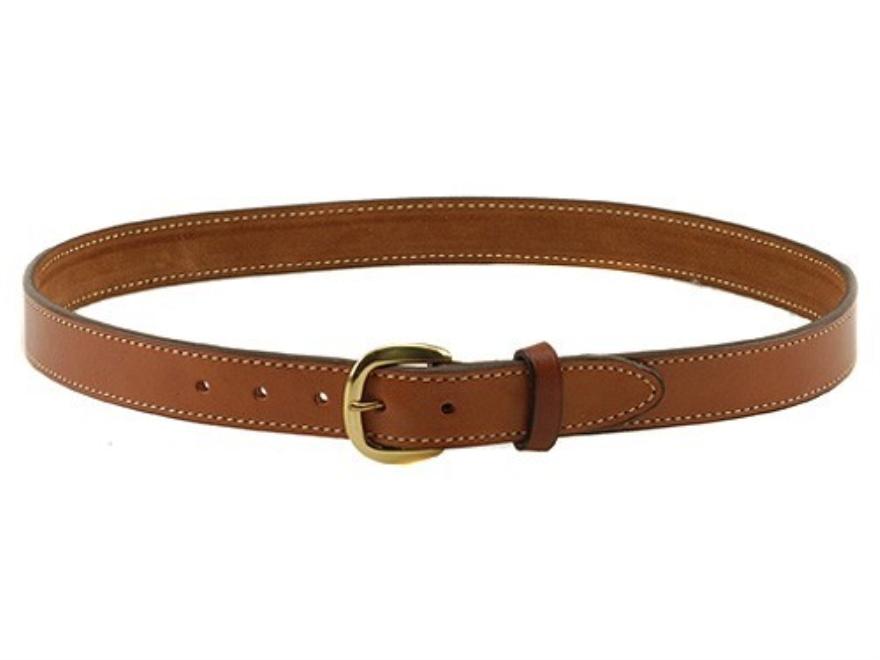 """Hunter 5800 Pro-Hide Belt 1-1/4"""" Brass Buckle Leather"""