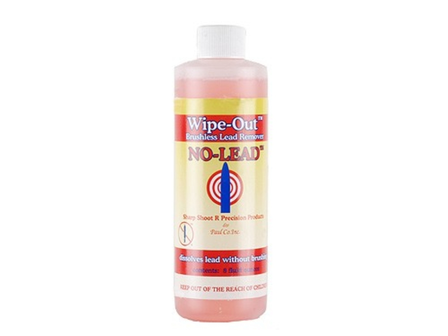 Sharp Shoot R Wipe-Out No-Lead Bore Cleaning Solvent 8 oz Liquid