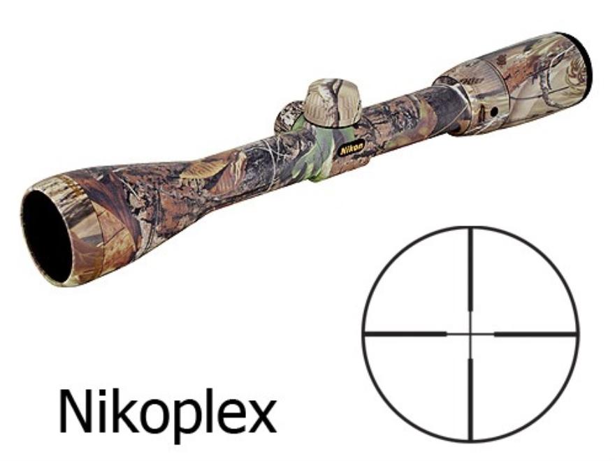 Nikon Buckmasters Rifle Scope 3-9x 40mm Nikoplex Reticle Realtree Hardwoods APG Camo