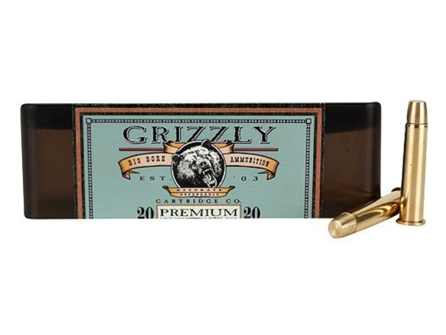 Grizzly Ammunition 45-70 Government +P 405 Grain PUNCH Flat Nose Lead-Free Box of 20
