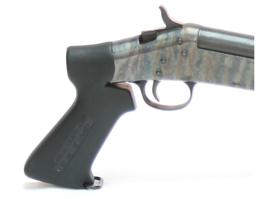 Choate Pistol Grip H&R, NEF 12, 16, 20, 410 Gauge Composite Black