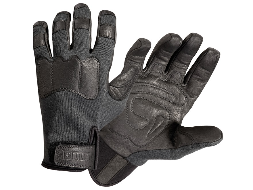 5.11 Tac-AK2 Gloves Goatskin and Kevlar Black
