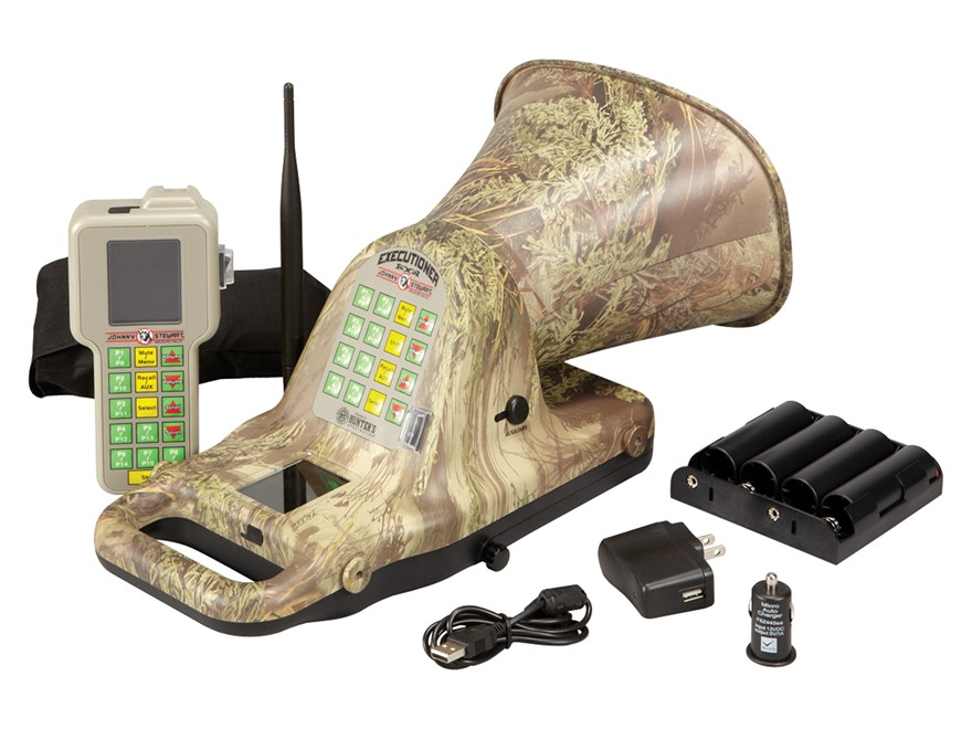 Johnny Stewart Executioner Electronic Predator Call with 100 Digital Sounds