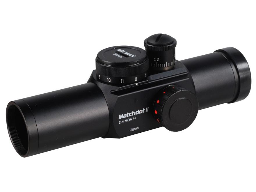 UltraDot Matchdot II Red Dot Sight 30mm Tube 1x 2, 4, 6, 8 MOA Dot 2-Pattern Reticle Ma...