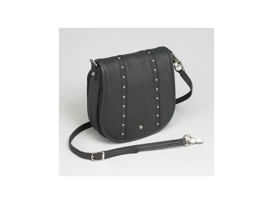 Gun Tote'N Mamas Simple Bling Shoulder Bag Black