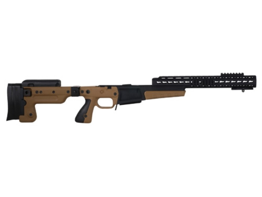 Accuracy International AX Chassis System (AX AICS) Folding Adjustable Stock Remington 700 Short Action