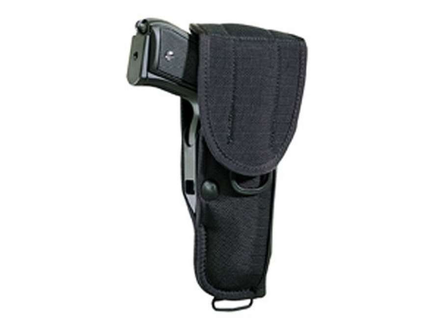 "Bianchi UM92-2 Universal Military Holster with Trigger Shield Large Frame Semi-Automatic 4"" Barrel Nylon"