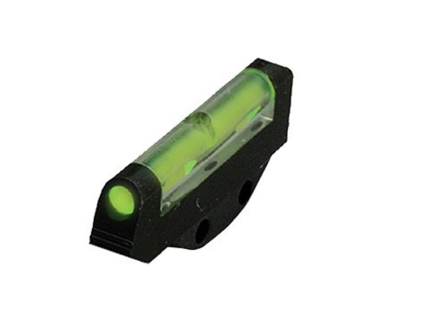 HIVIZ Front Sight Ruger P Series (Except P345), SP101 (Except 327 Fed Mag) Steel Fiber Optic Green