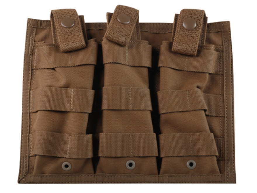 Spec.-Ops. X-3 MOLLE Compatible Triple Magazine Shingle AR-15 Nylon Coyote Brown