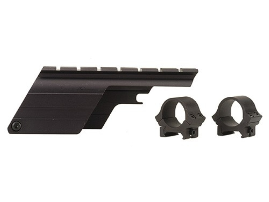 "B-Square Shotgun Saddle Mount with 1"" Rings Mossberg 500 Sport/Bantam 20 Gauge Matte"