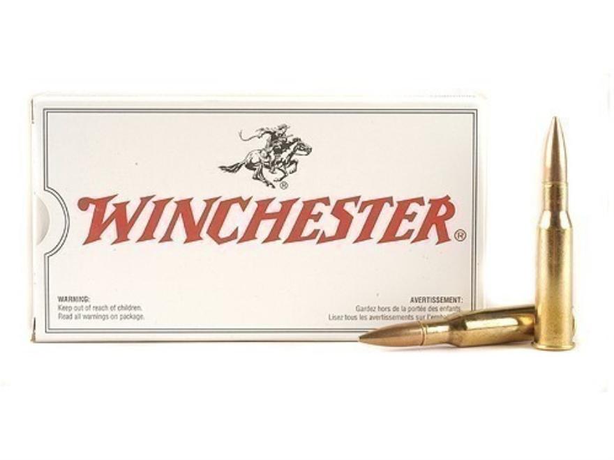 Winchester USA Ammunition 7.62x54mm Rimmed Russian 180 Grain Full Metal Jacket
