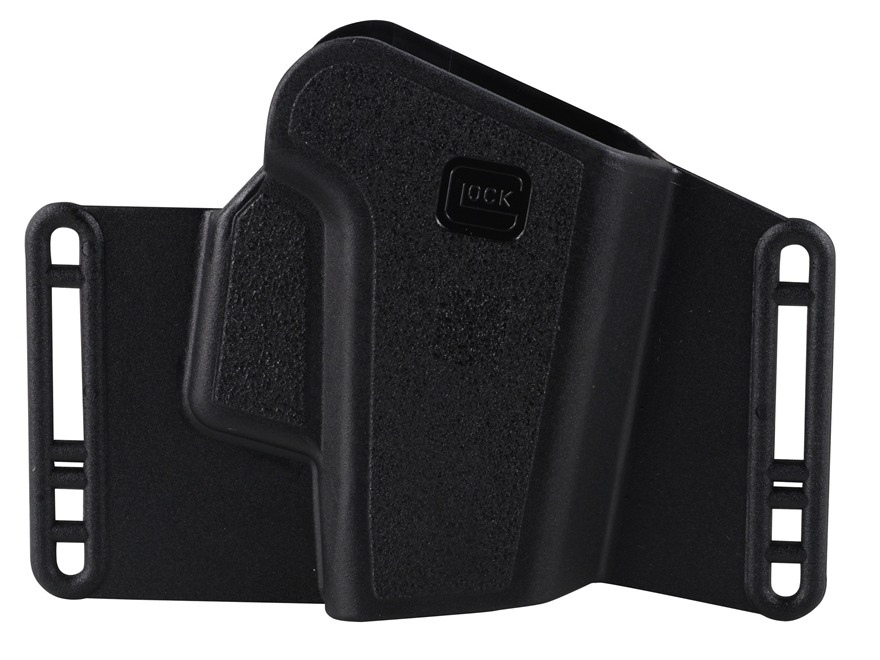 Glock Sport and Combat Holster Ambidextrous 17, 19, 22, 23, 26, 27, 31, 32, 33, 34, 35 Polymer Black