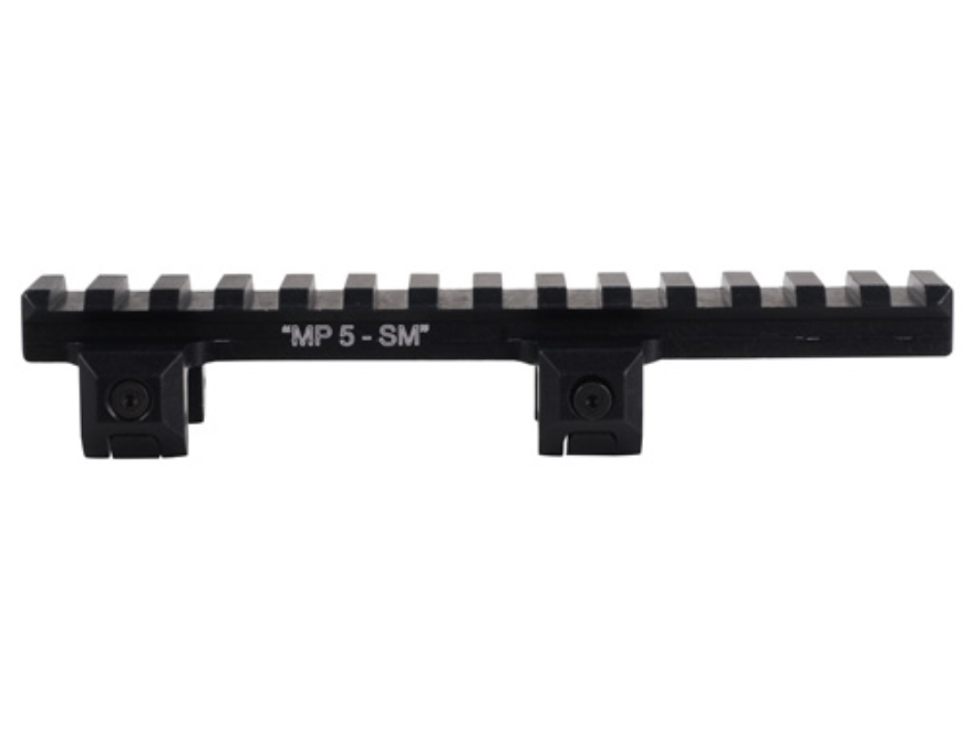 FAB Defense Picatinny-Style Claw Scope Base HK MP5, GSG-5, GSG-522 Aluminum Matte