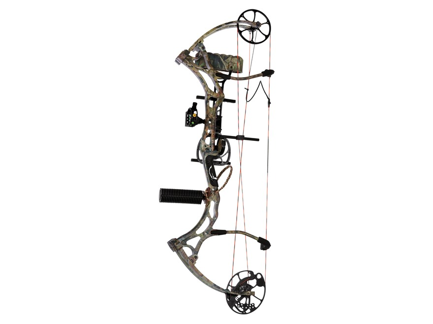 "Bear Archery Domain RTH Compound Bow Package Right Hand 60-70 lb 26""-31"" Draw Length Realtree APG Camo"