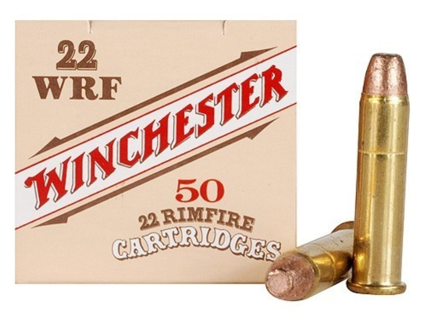 Winchester Wildcat Ammunition 22 Winchester Rimfire (WRF) 45 Grain Plated Lead Flat Nos...