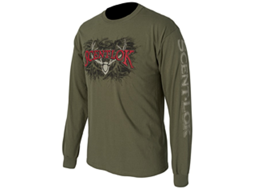 Scent-Lok Men's Boneyard Long Sleeve T-Shirt