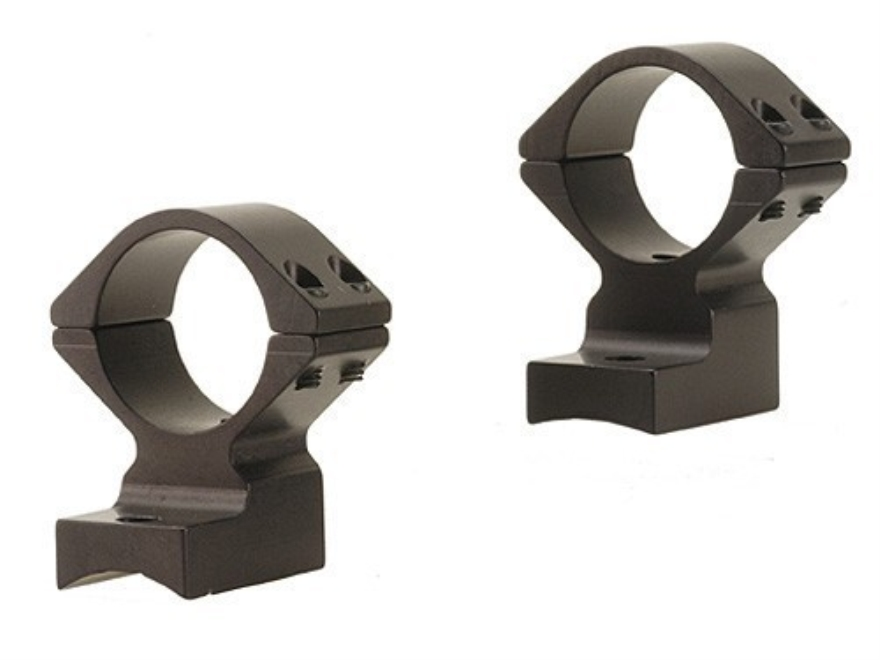 "Talley Lightweight 2-Piece Scope Mounts with Integral 1"" Rings Winchester 70 Pre-64 with .435 Rear Mount Hole Spacing (.300 H&H, .375 H&H and .458 Winchester Magnums) Matte"