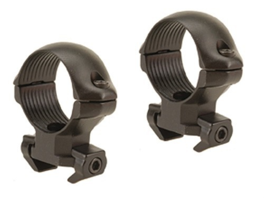 "Millett 1"" Angle-Loc Windage Adjustable Ring Mounts CZ 550 Matte Medium"