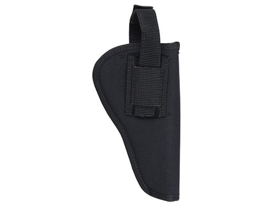 "Soft Armor Belt Holster Ambidextrous Taurus Judge 4"" Nylon Black"