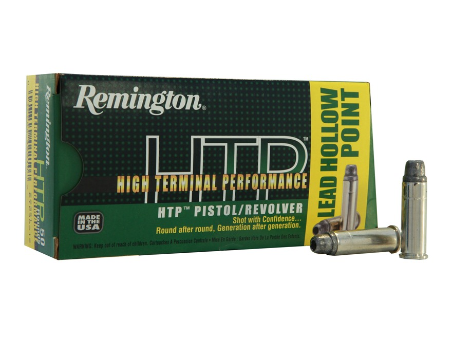 Remington High Terminal Performance Ammunition 38 Special +P 158 Grain Lead Hollow Point Box of 50