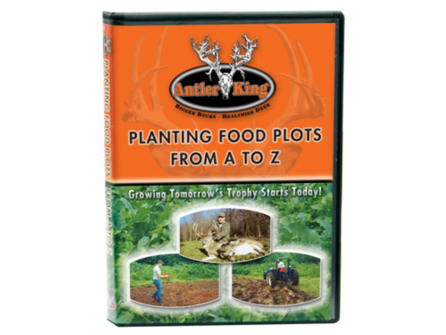 Antler King Planting Food Plots Instructional DVD
