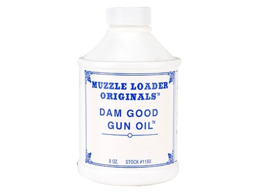 Muzzle Loader Originals Dam Good Gun Oil 8 oz Liquid