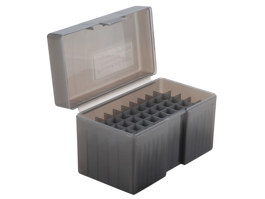 Frankford Arsenal Flip-Top Ammo Box #510 25-06 Remington, 270 Winchester, 30-06 Springfield 50-Round Plastic Smoke Box of 10