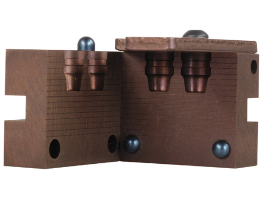 Saeco 2-Cavity Bullet Mold #131 45 Caliber (452 Diameter) 185 Grain Semi-Wadcutter Bevel Base