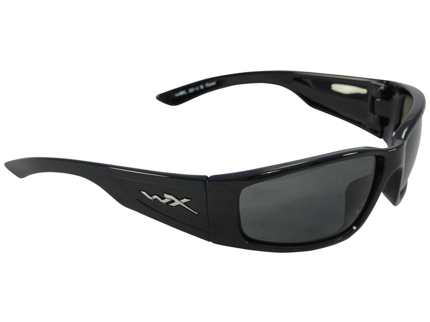 Wiley X Zak Polarized Sunglasses Smoke Gray Lens