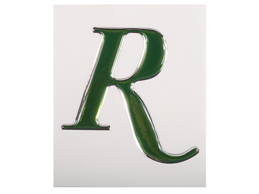 Remington R Logo Decal Green