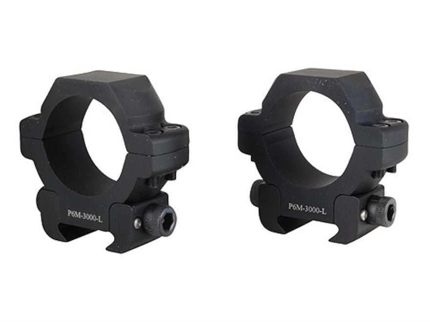 U.S. Optics 30mm Picatinny-Style Rings Matte Low