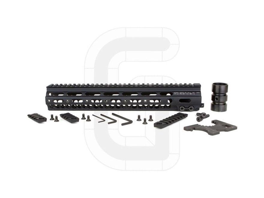 "Geissele Super Modular Rail MK1 Free Float Handguard AR-15 Aluminum Black 13"""