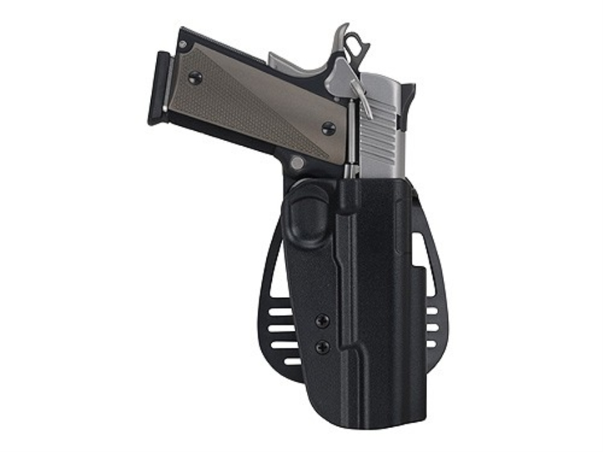 Uncle Mike's Paddle Holster Right Hand Ruger P85, P89, P90, P91 Kydex Black