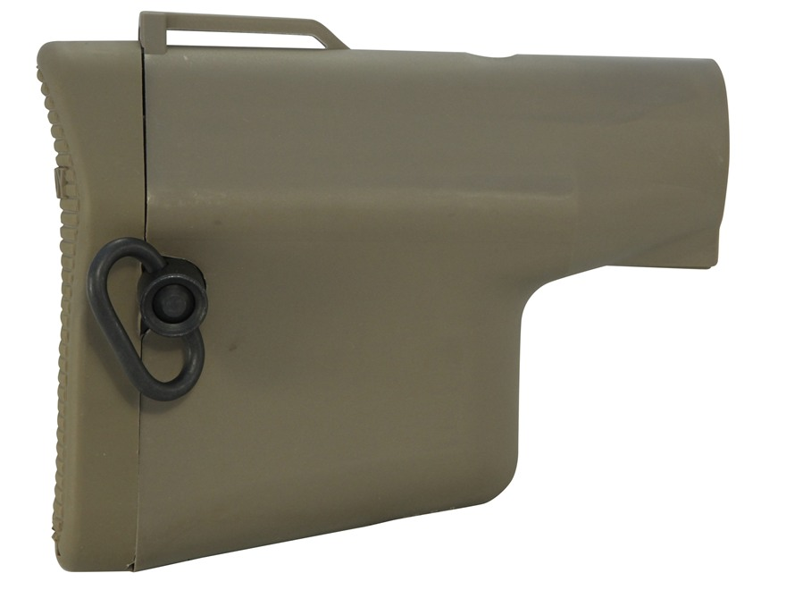Troy Industries Battle Ax CQB Lightweight Collapsible Buttstock AR-15, LR-308 Polymer
