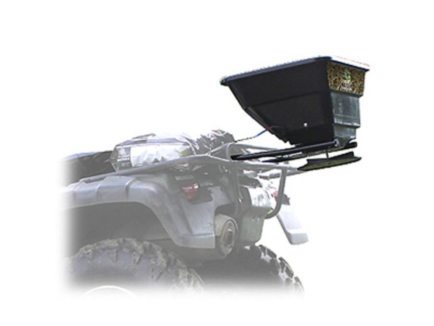 Biologic 80 lb ATV Broadcast Spreader Steel and Polymer Black