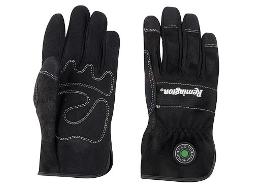 Remington RG-10 Slip-Fit Gloves Synthetic Black Large