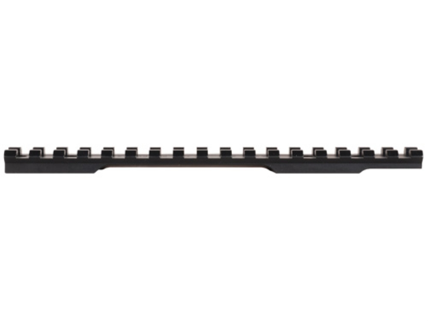 TPS 1-Piece XP Tactical Picatinny-Style Base Savage 10 Through 16 Round Rear, Short Action Matte Steel