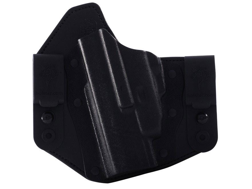 DeSantis Intruder Inside the Waistband Holster Glock 42 Kydex and Leather Black