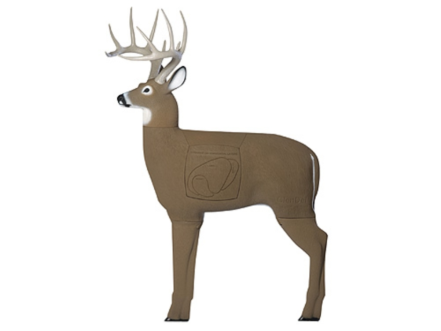 Field Logic GlenDel Buck with Vital Insert 3-D Foam Archery Target