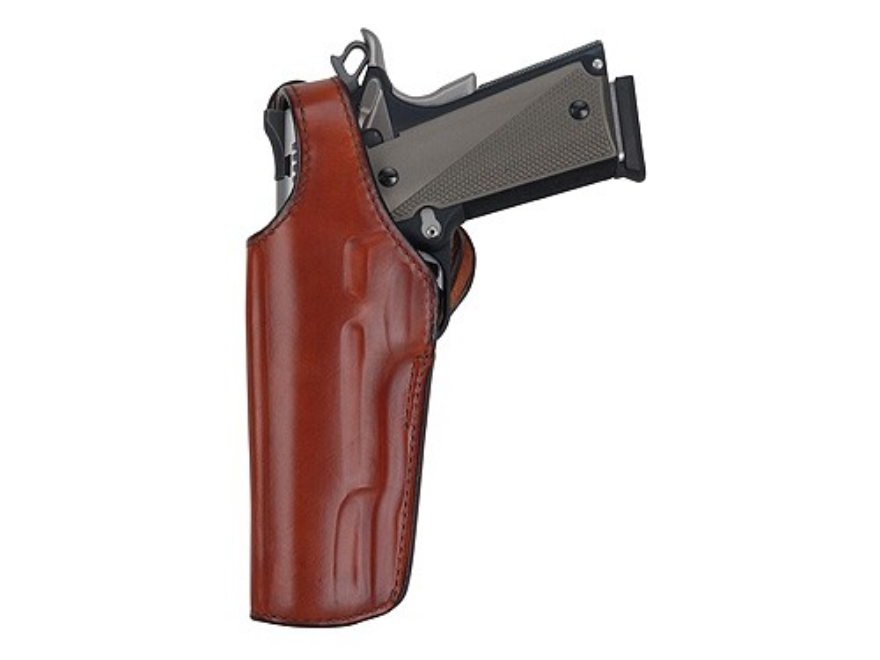 "Bianchi 111 Cyclone Crossdraw Holster S&W J-Frame 2"" Barrel Leather Tan"