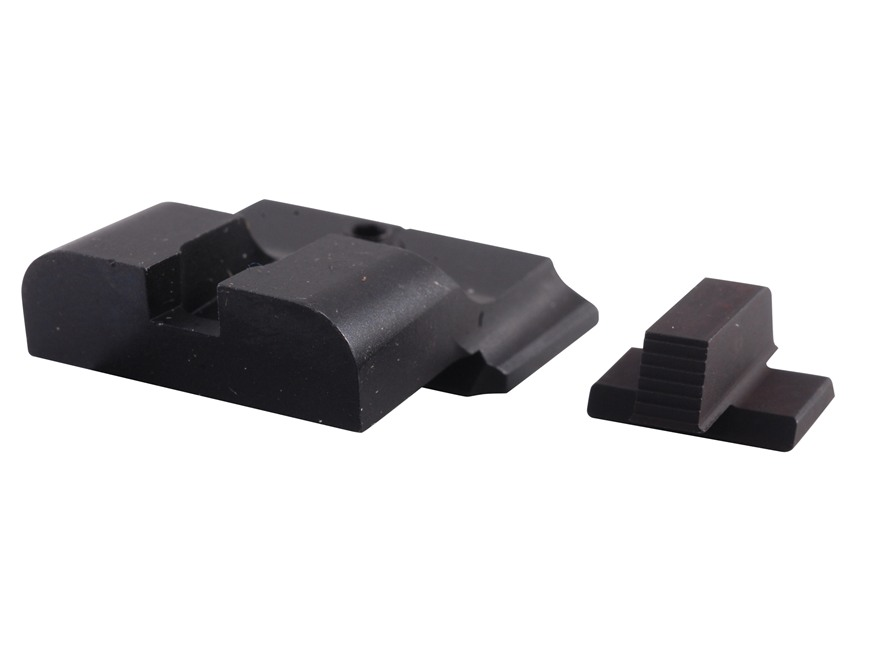Warren Tactical Sight Set S&W M&P, M&P Compact Sevigny Competition Rear, Serrated Front Steel Matte
