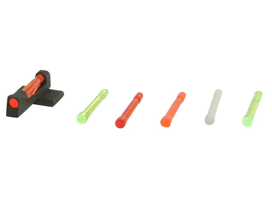 HIVIZ Front Sight STI Edge Steel with 6 Interchangeable Lite Pipes