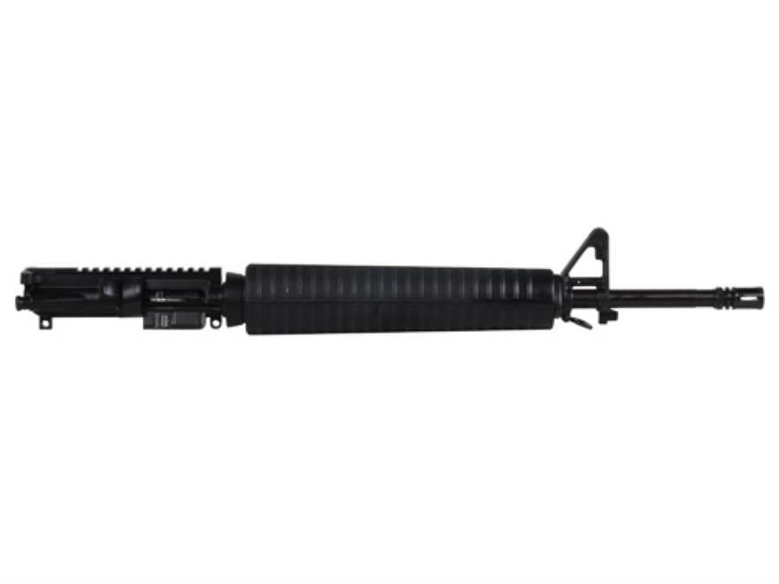 "CMMG AR-15 A3 Flat-Top Upper Assembly 22 Long Rifle 1 in 16"" Twist 20"" Barrel Chrome Moly Matte with A2 Front Sight, Flash Hider"
