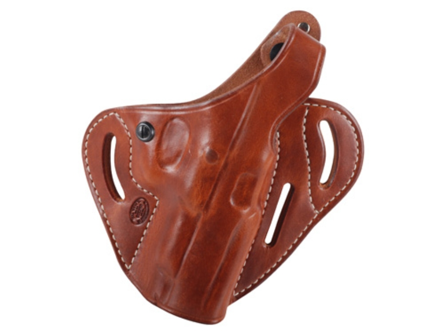 El Paso Saddlery Dual Duty 3 Slot Outside the Waistband Holster Right Hand Ruger P85, P89 Leather