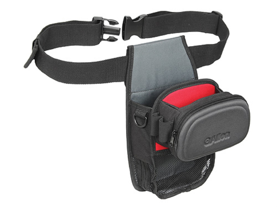 Allen Eliminator All-in-One Shooting Bag Foam Shell Gray/Red