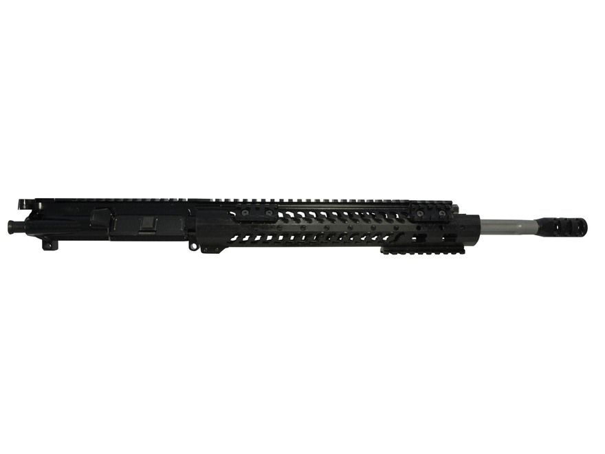 "Adams Arms AR-15 A3 Competition Evo Mid Length Gas Piston  Upper Assembly 5.56x45mm NATO 1 in 8"" Twist 16"" Fluted Barrel Stainless Steel with 12"" Samson Evo Rail, Muzzle Brake"