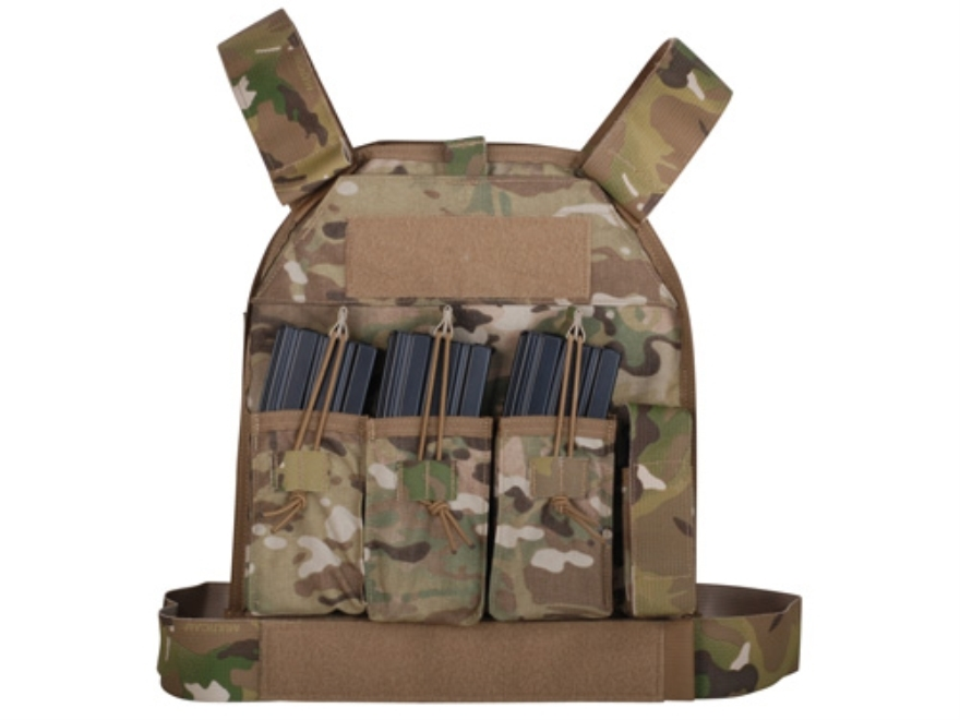 US Palm AR-15 Defender Series Soft Body Armor Level IIIA Front Panel 500d Cordura Nylon
