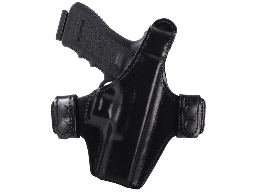 Bianchi Allusion Series 130 Classified Outside the Waistband Holster Glock 17, 22, 31 Leather