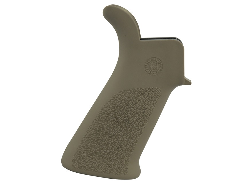Hogue Overmolded Beavertail Pistol Grip AR-15