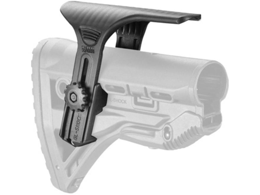 Mako Adjustable Cheek Rest for GL-Shock Recoil Reducing Buttstocks AR-15 Polymer Black